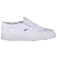 Vans Classic Slip On - Boys' Toddler - All White / White