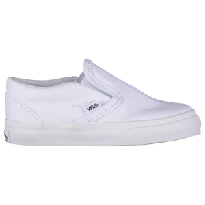 Vans Classic Slip On - Boys' Toddler - True White