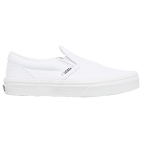Vans Classic Slip On - Boys' Preschool - All White / White
