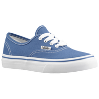 Vans Authentic - Boys' Preschool - Light Blue / White