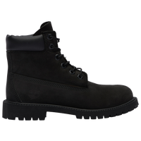 "Timberland 6"" Premium Waterproof Boots - Boys' Grade School - All Black / Black"
