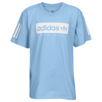 adidas Originals NMD Multi Short Sleeve T-Shirt - Boys' Grade School - Light Blue / White
