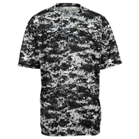 Badger Sportswear Digital Camo T-Shirt - Men's - Black / Grey