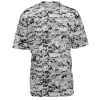 Badger Sportswear Digital Camo T-Shirt - Men's - White / Grey