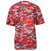 Badger Sportswear Digital Camo T-Shirt - Men's - Red / Pink