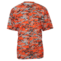 Badger Sportswear Digital Camo T-Shirt - Men's - Orange / Grey