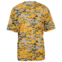 Badger Sportswear Digital Camo T-Shirt - Men's - Gold / Grey
