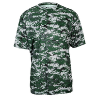 Badger Sportswear Digital Camo T-Shirt - Men's - Dark Green / Grey