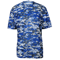 Badger Sportswear Digital Camo T-Shirt - Men's - Blue / Grey