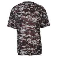 Badger Sporting Goods Digital Camo T-Shirt - Men's - Maroon / Grey