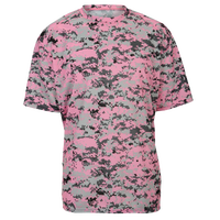 Badger Sportswear Digital Camo T-Shirt - Men's - Pink / Grey
