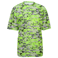 Badger Sportswear Digital Camo T-Shirt - Men's - Light Green / Grey