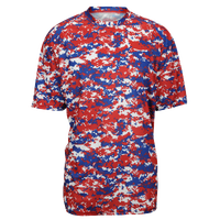 Badger Sporting Goods Digital Camo T-Shirt - Men's - Red / Blue