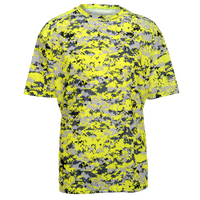 Badger Sportswear Digital Camo T-Shirt - Men's - Yellow / Grey
