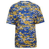 Badger Sportswear Digital Camo T-Shirt - Men's - Blue / Gold