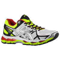 ASICS� GEL-Kayano 21 - Men's - White / Silver