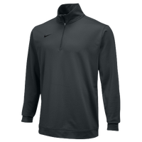 Nike Team Dri-FIT 1/2 Zip - Men's - Grey / Grey