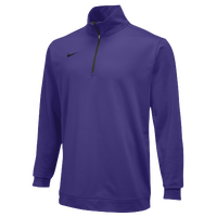 Nike Team Dri-FIT 1/2 Zip - Men's - Purple / Purple