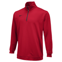 Nike Team Dri-FIT 1/2 Zip - Men's - Red / Red