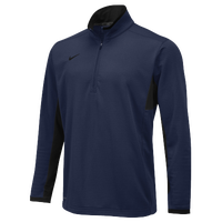 Nike Team Textured Dri-FIT 1/2 Zip - Men's - Navy / Black