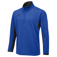 Nike Team Textured DriFit 1/2 Zip - Men's - Blue / Black