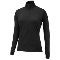 Nike Team Pro Hyperwarm 1/2 Zip 3.0 - Women's - Black / Grey