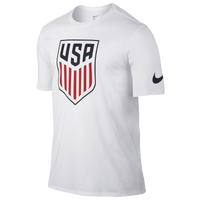 Nike Country Pride T-Shirt - Men's - USA - White / Red