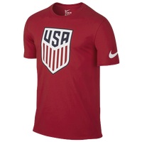 Nike Country Pride T-Shirt - Men's - USA - Red / White