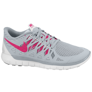 Nike Free 5.0 2014 - Women's - Cool Grey/Vivid Pink/White
