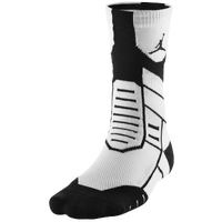 Jordan Jumpman Flight Crew Socks - Adult - White / Black