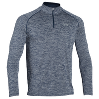 Under Armour Lightweight Tech 1/4 Zip L/S T-Shirt - Men's - Navy / Grey