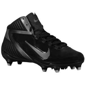 Nike Alpha Speed D 3/4 - Men's - Black/Tornado/Metallic Silver