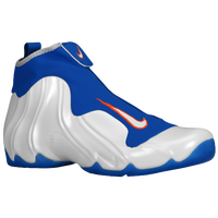 Nike Air Flightposite - Men's - White / Blue