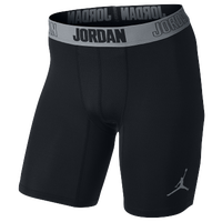 Jordan AJ All Season Compression Shorts - Men's - Black / Grey