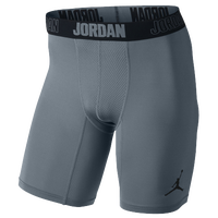 Jordan AJ All Season Compression Shorts - Men's - Grey / Black