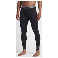 Jordan AJ All Season Compression Tights - Men's - Black / Grey