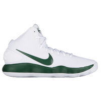 Nike React Hyperdunk 2017 Mid - Men's - White / Dark Green