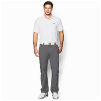 Under Armour Performance Golf Polo 2.0 - Men's - White / Grey