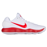 Nike React Hyperdunk 2017 Low - Men's - White / Red