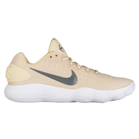 Nike React Hyperdunk 2017 Low - Men's - Gold / Grey