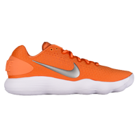 Nike React Hyperdunk 2017 Low - Men's - Orange / Silver
