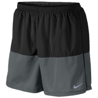 "Nike Dri-FIT 5"" Distance Shorts - Men's - Black / Grey"