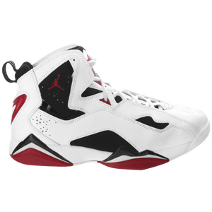Jordan True Flight - Men's - White/Carmine/Black