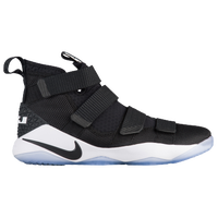 Nike LeBron Soldier 11 - Men's -  Lebron James - Black / White