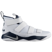 Nike LeBron Soldier 11 - Men's -  Lebron James - White / Silver