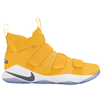 Nike LeBron Soldier 11 - Men's -  Lebron James - Gold / Grey