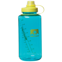Nathan Bigshot Narrow Mouth Tritan 34 oz Botttle - Light Blue / Yellow
