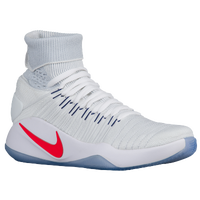 Nike Hyperdunk 2016 Flyknit - Men's - USA - White / Navy