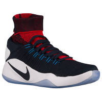 Nike Hyperdunk 2016 Flyknit - Men's - USA - Navy / Orange