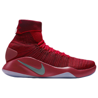 Nike Hyperdunk 2016 Flyknit - Men's - Red / Grey